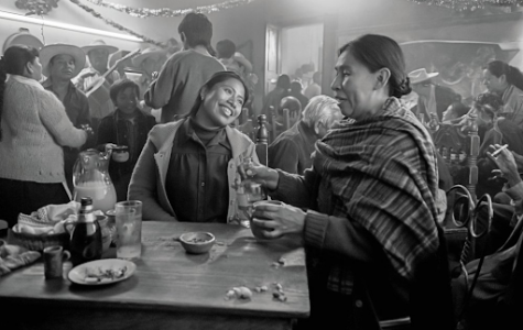 Pictured is Yalitza Aparicio in her portrayal as Cleo in Alfonso Cuarón's Roma.