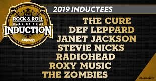 2019 Rock n' Roll Hall of Fame