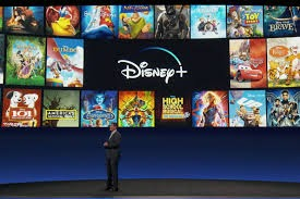 Announcement of New Streaming Service Disney Plus